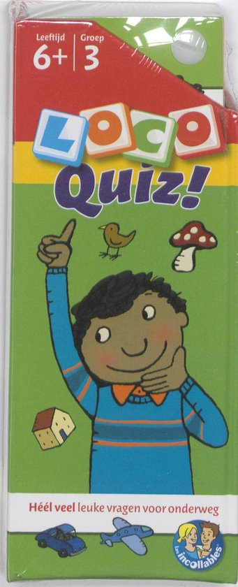 Loco Quiz! Leeftijd 6+ Groep 3 - Nvt. |