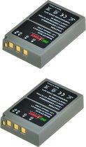 ChiliPower Olympus BLS-5 / PS-BLS5 camera batterij - 2 stuks verpakking
