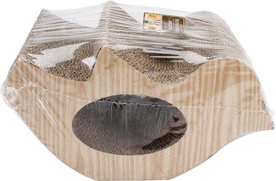 Krabplank in vogelvorm