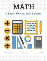 Math Graph Paper Notebook