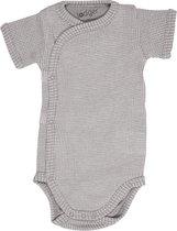 Lodger Rompertje Baby - Romper Ciumbelle - Donkergrijs - Korte mouw - 62