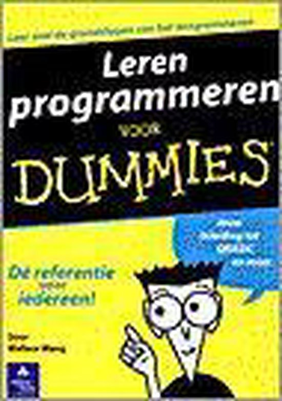 Leren programmeren voor Dummies - W. Wang pdf epub