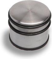 E&D Deurstopper - 8x10 Cm - Metaal, Rubber