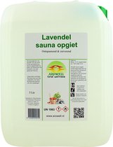 Arowell - Lavendel sauna opgiet saunageur opgietconcentraat - 5 ltr
