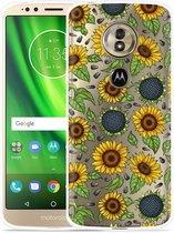 Moto G6 Play hoesje Sunflowers