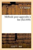 Methode pour apprendre a lire