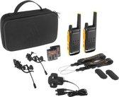Motorola TLKR-T82 Extreme - Twin Pack - Zwart