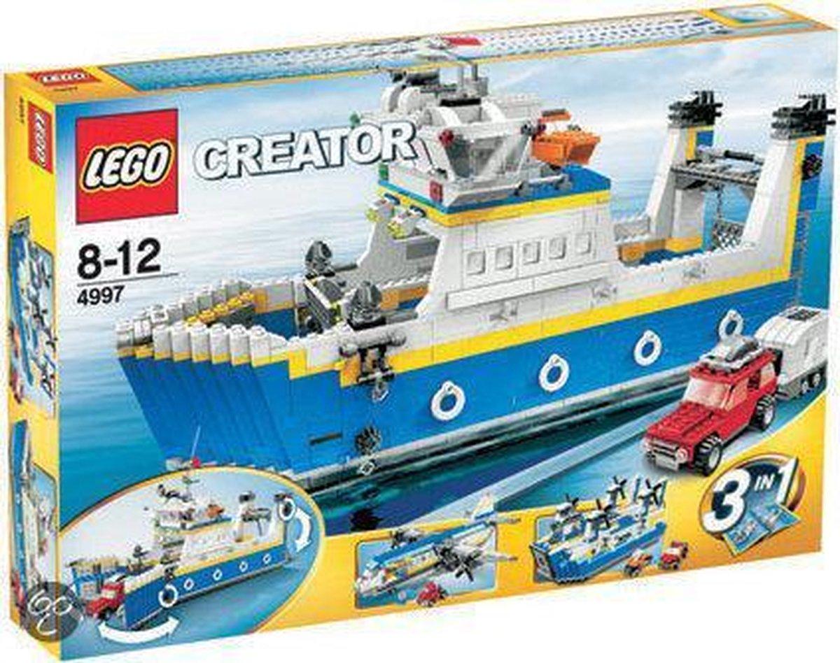 LEGO Creator Transportschip - 4997
