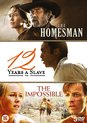 12 Years a slave + The impossible + The Homesman (3 DVD boxset)