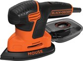 BLACK+DECKER Mouse KA2000 Detailschuurmachine -  110W - incl. accessoires en softbag