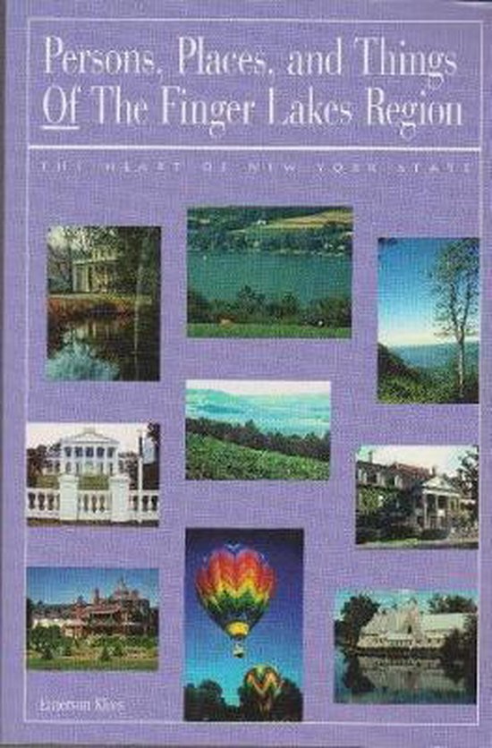 Boek cover Persons, Places, and Things of the Finger Lakes Region van Emerson Klees (Paperback)