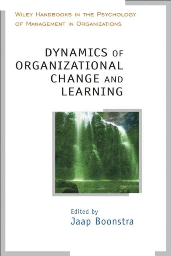 Boek cover Dynamics of Organizational Change and Learning van Jaap J. Boonstra (Hardcover)