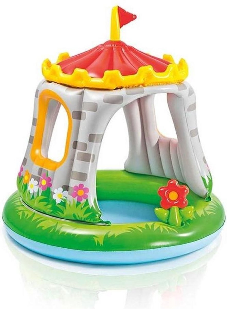 Intex Kinderzwembad Royal Castle 122x122x13cm