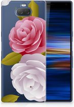 Sony Xperia 10 Plus Uniek TPU Hoesje Roses