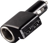 Hama Triple Power Auto Zwart oplader voor mobiele apparatuur