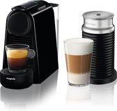 Nespresso Magimix Essenza Mini M115 - Koffiecupmachine - Zwart - Met melkopschuimer