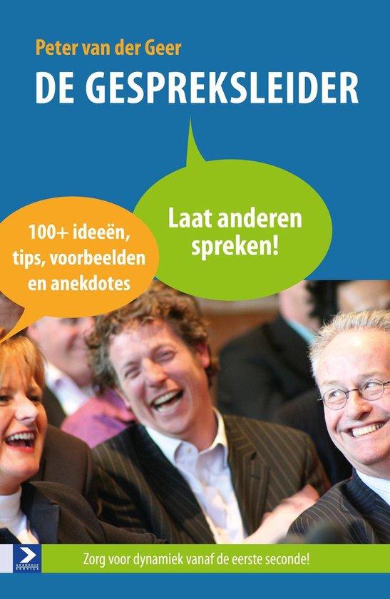 De gespreksleider - Peter van der Geer pdf epub