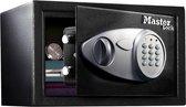 MasterLock X055ML - Stalen Kluis – Met digitaal slot en sleutel - Te verankeren - 22x35x27 cm