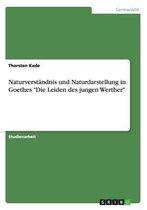 Naturverst ndnis Und Naturdarstellung in Goethes Die Leiden Des Jungen Werther