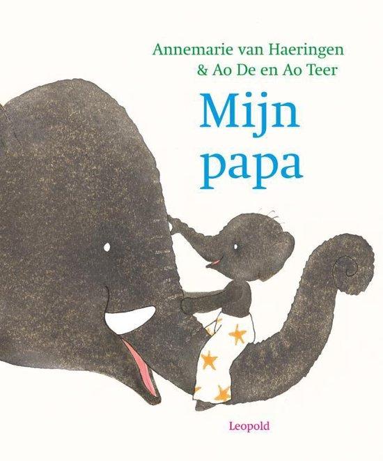 Boek cover Mijn papa van Annemarie van Haeringen (Hardcover)
