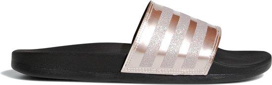 bol.com | adidas Slippers - Maat 43 - Vrouwen - goud/zwart
