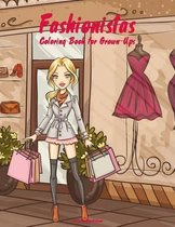 Fashionistas Coloring Book for Grown-Ups 1