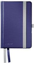 Leitz Notitieboek Style - A6 formaat - Harde gebonden kaft - gelijnd - titanium blauw