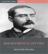 Boek cover Departmental Ditties (Illustrated) van Rudyard Kipling