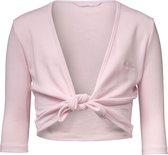 Papillon Cross-Over Vest Balletvest - Maat 128  - Unisex - roze