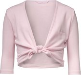 Papillon Cross-Over Vest Balletvest - Maat 116  - Unisex - roze