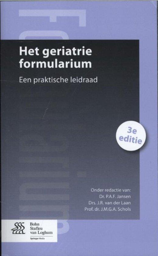 Het geriatrie formularium - none |