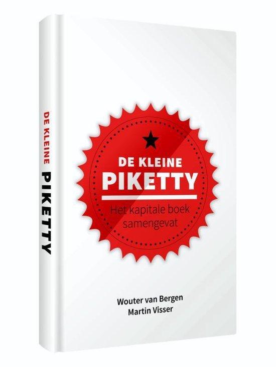Boek cover De kleine Piketty van Wouter van Bergen (Hardcover)