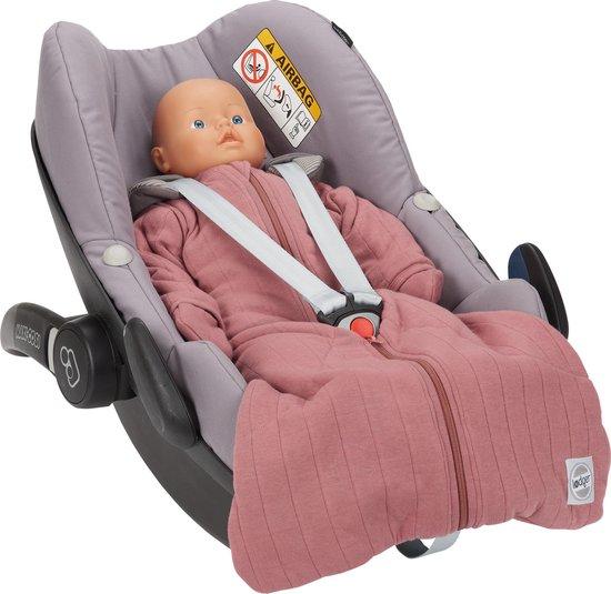 Lodger Baby slaapzak - Hopper Solid - Roze - Lange mouw - 86/98