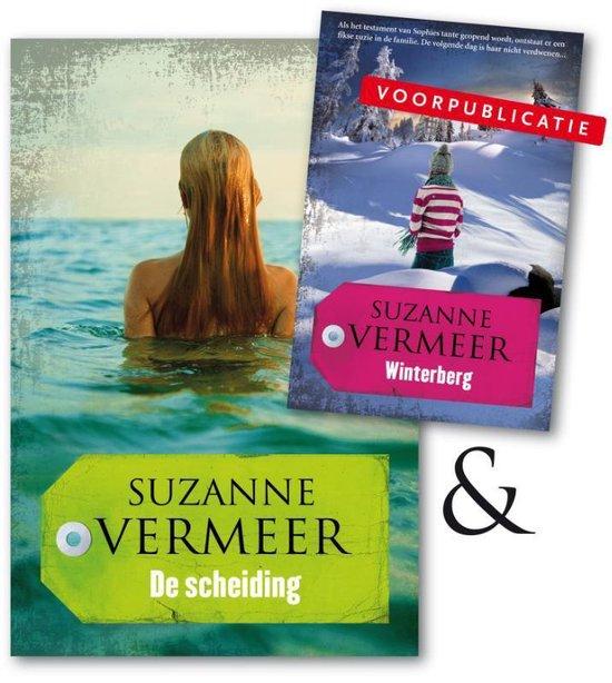 Boek cover De scheiding van Suzanne Vermeer