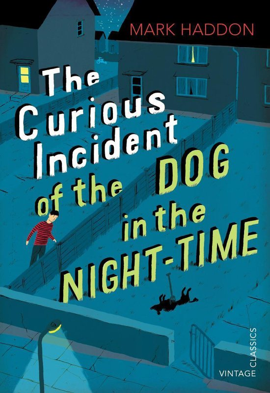 Boek cover The Curious Incident of the Dog in the Night-time van Mark Haddon (Onbekend)