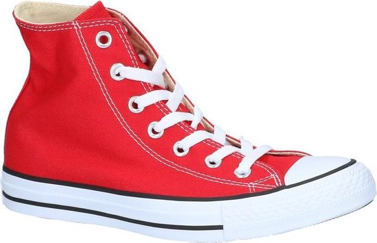 Converse All Star High Sneakers Rood Dames 41,5