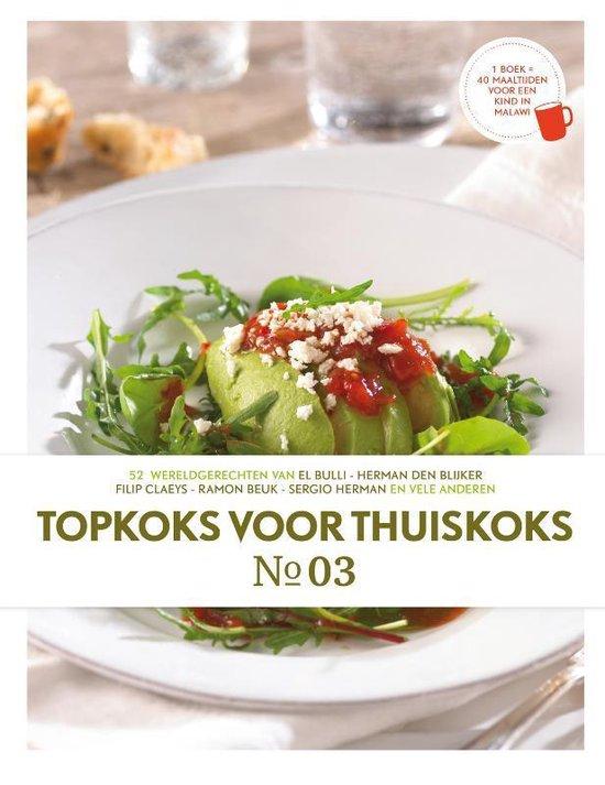 Boek cover Topkoks Voor Thuiskoks 3 van Diverse auteurs (Hardcover)