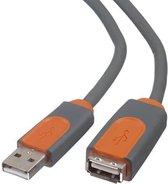 Belkin PRO Series USB Extension Cable - USB-verlengkabel - USB (M) naar USB (V) - USB 2.0 - 4.8 m - gevormd