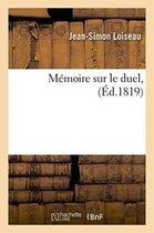 Memoire sur le duel