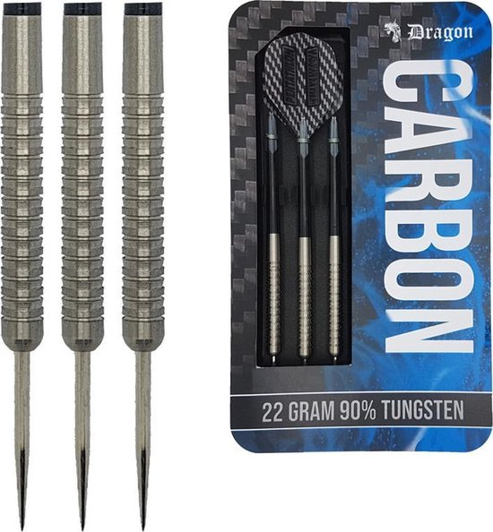 Dragon darts – Carbon  - 90% tungsten – 22 gram – dartpijlen