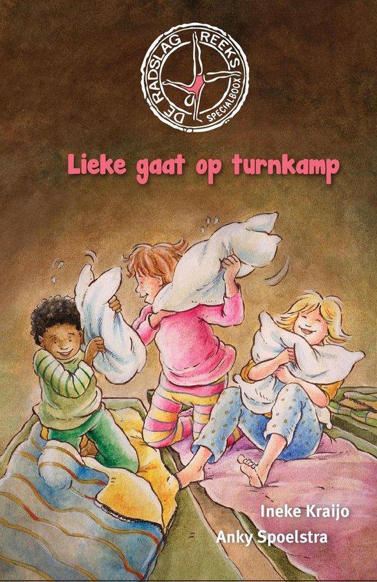 Boek cover De Radslag reeks  -   Lieke gaat op turnkamp van Ineke Kraijo (Hardcover)