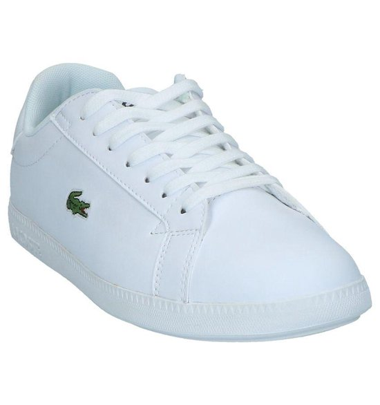 Witte Sneakers Lacoste Graduate