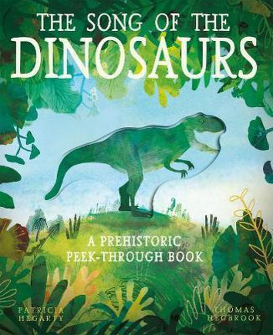 Boek cover The Song of the Dinosaurs van Patricia Hegarty (Paperback)