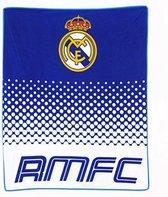 Real Madrid Deken - Fleece - 125 x 150 cm