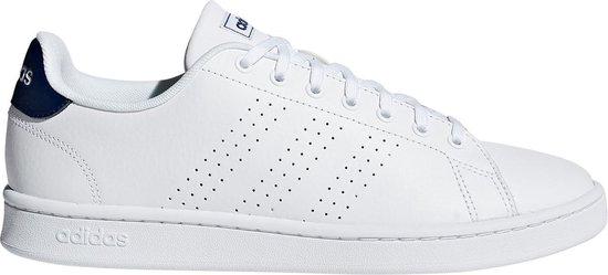 adidas Advantage Sneakers - Maat 37 1/3 - Unisex - wit/donker blauw