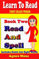 Book Two Read And Spell First Grade Words