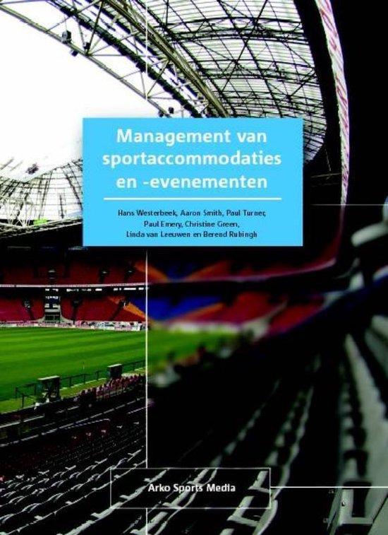 Management van sportaccommodaties en -evenementen - H.M. Westerbeek |