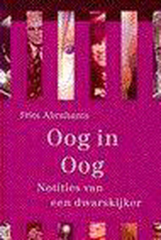 Boek cover Oog in oog van Frits Abrahams (Paperback)