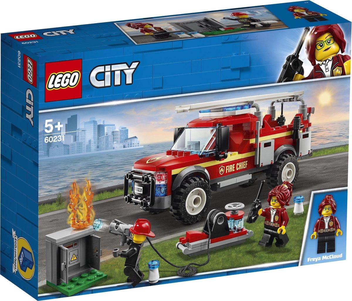 LEGO City Reddingswagen van Brandweercommandant - 60231