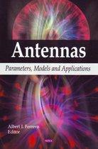 Boek cover Antennas van Albert I. Ferrero